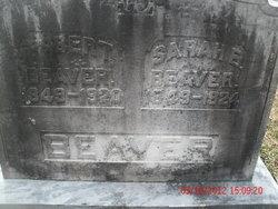 Sarah E <I>Wetzel</I> Beaver