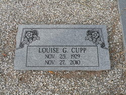 Louise Grace <I>Cook</I> Cupp