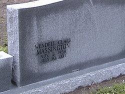Wendell <I>Clark</I> Massington
