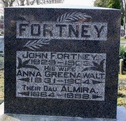 Anna <I>Greenawalt</I> Fortney