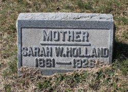 Sarah <I>Woodward</I> Holland