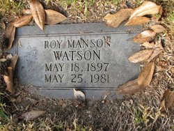 Roy Manson Watson