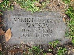 Myrtice Boulware Watson