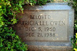 Patricia Lee Owen