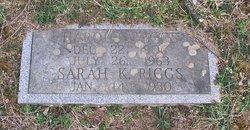 Sarah Frances <I>Kees</I> Riggs