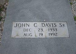 John C Davis, Sr