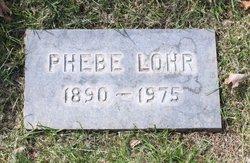 Phebe <I>Farley</I> Lohr