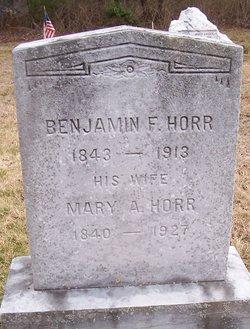 Benjamin F Horr