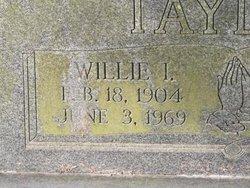 Willie I. Taylor