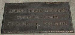 "Eugenia M. ""Jennie"" Flaker"
