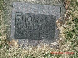 Thomas B Coleman