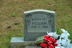 Martha Faye Pulliam