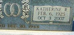 Katherine R <I>Thomas</I> Sharpe