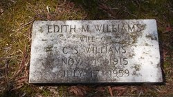 Edith <I>Morgan</I> Williams