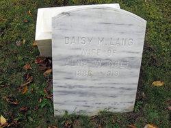 Daisy M. <I>Lang</I> Cole