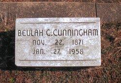Beulah Cordelia <I>Greenleaf</I> Cunningham