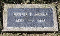 Bessie Fredonia <I>Reid</I> Marks