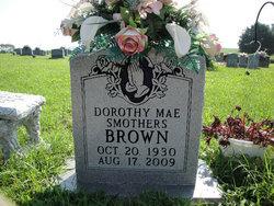 Dorothy Mae <I>Scott</I> Smothers Brown
