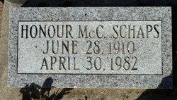 Honour McC. Schaps