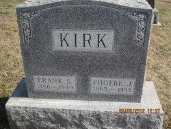 Phoebe J <I>Cookson</I> Kirk