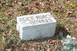 Alice <I>Roach</I> Bowles
