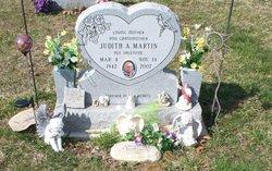 """Judith A """"Judy"""" <I>Valentine</I> Martin"""