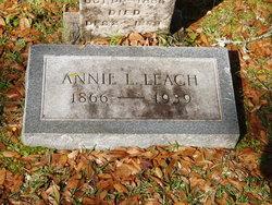 Annie L. <I>Welzer</I> Leach