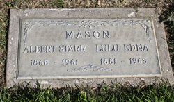 Lulu Edna <I>Sackett</I> Mason