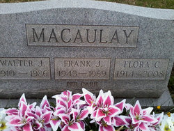 Frank J Macaulay