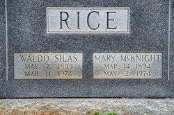 Waldo Silas Rice