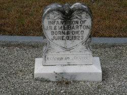 Infant Son Barton