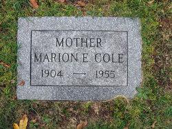 Marion E. <I>Fancy</I> Cole