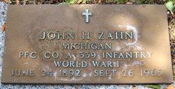 John H Zahn