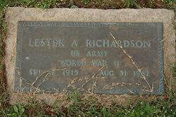 Lester A. Richardson