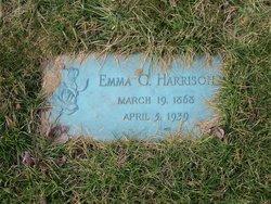 Emma Collins <I>Bills</I> Harrison