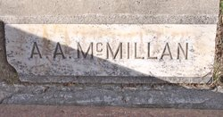 A A McMillan