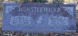 Stella Catherine <I>Schmitz</I> Munsterteiger