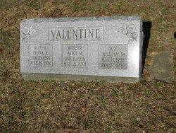 Alice M Valentine