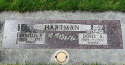 Doris Arlene <I>Boone</I> Hartman