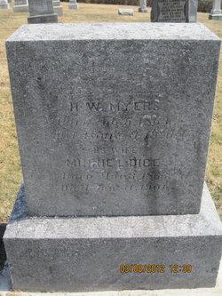 Henry W Myers