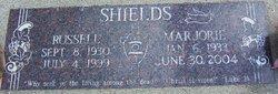 Marjorie Irene <I>Riggs</I> Shields