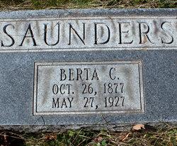 Berta Lillian <I>Crouch</I> Saunders