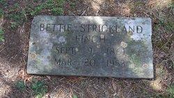 Bettie Davis <I>Strickland</I> Finch