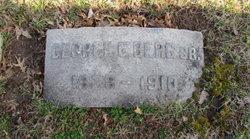George C Berg, Sr