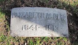 Elizabeth M Berg