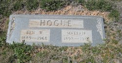 Maefair <I>Kooken</I> Hogue