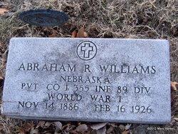 Abraham R. Williams