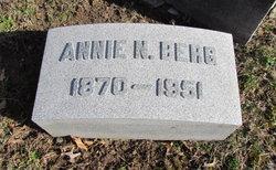 Annie <I>Niese</I> Berg