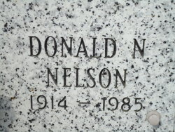 Donald Nels Nelson