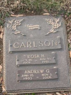 Rosa H Carlson